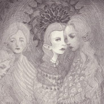 Chantal Horeis - Sisters (Detail 1)