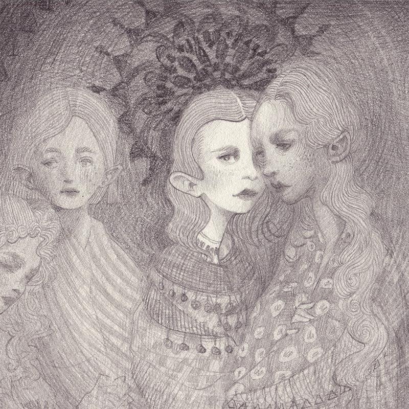 Chantal Horeis - Sisters (Detail 1)