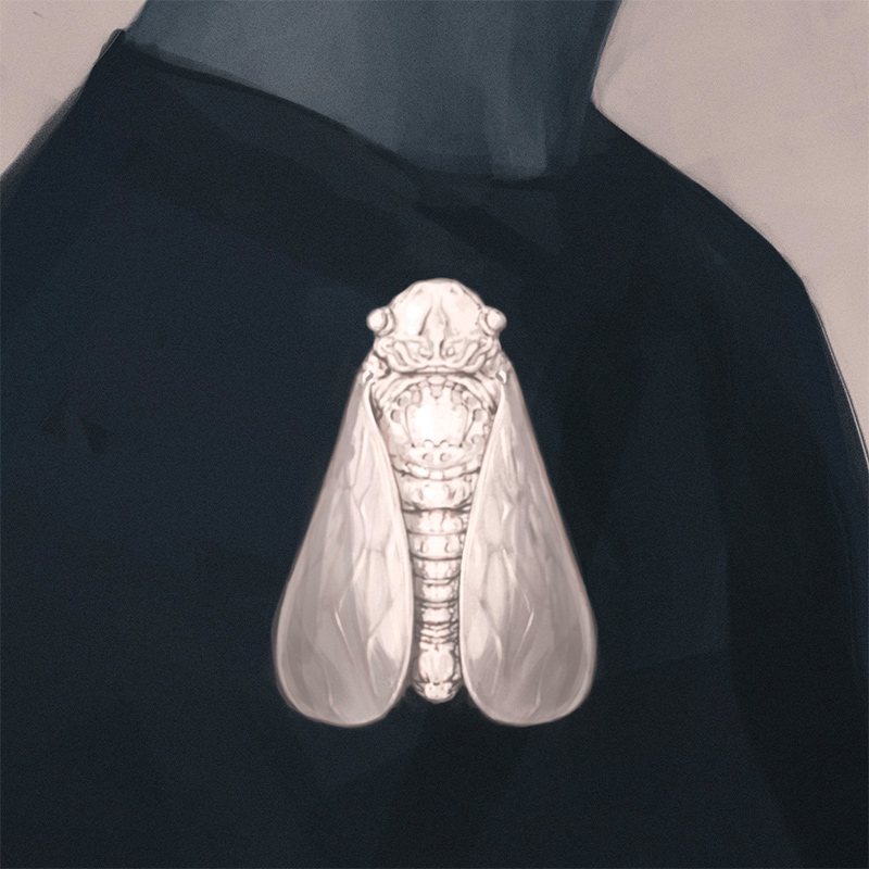 James Boswell - PARACOSM 20: Cicada (Detail 2)