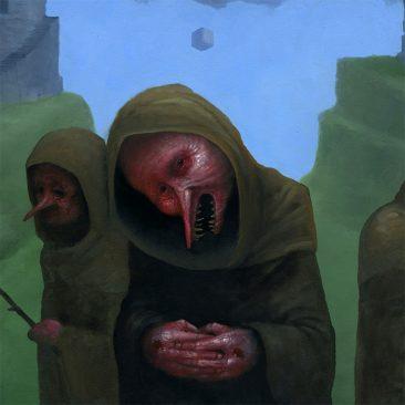 Jeff Christensen - Three of Shade (Detail 2)
