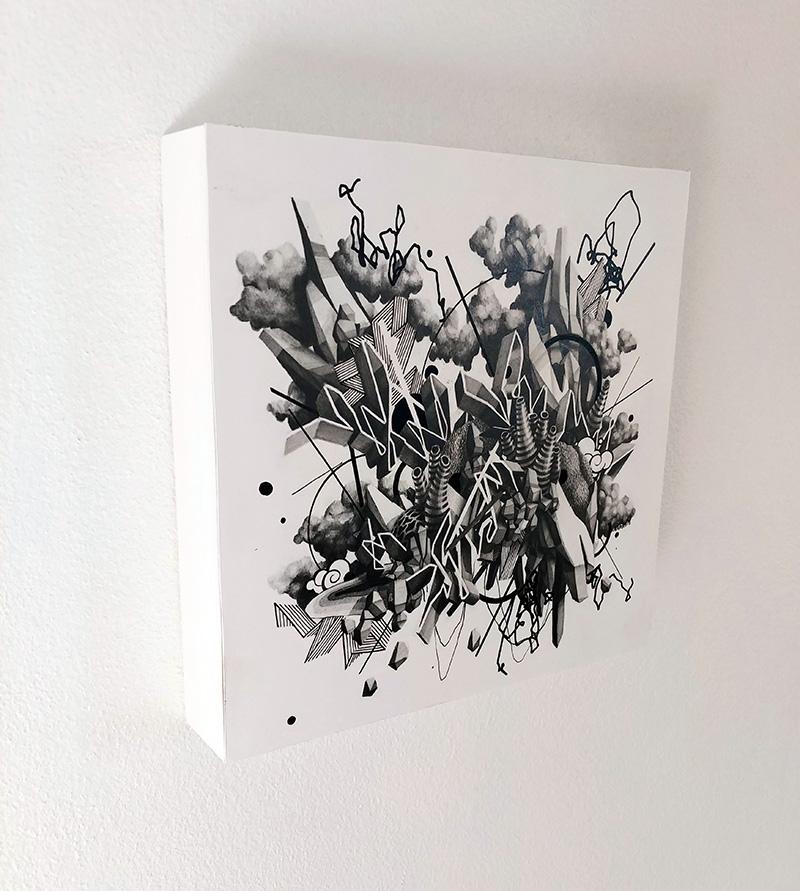Jeremy Nichols - Untitled Fragment one (Side)