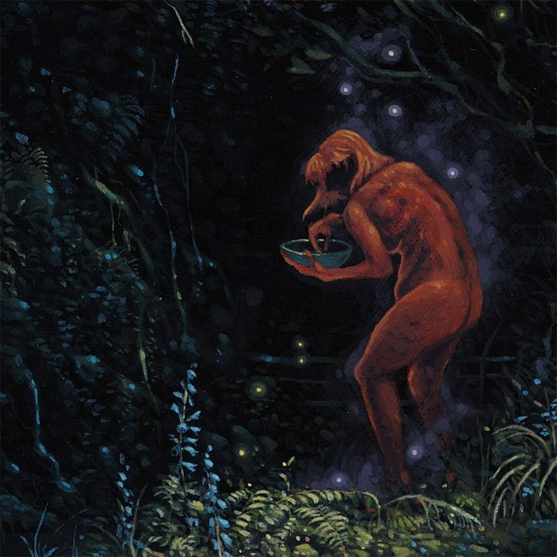 Jesse Jacobi - Red Witch (Detail 2)