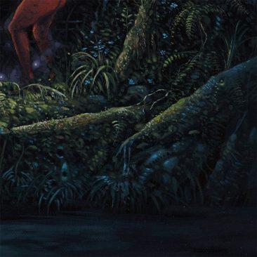 Jesse Jacobi - Red Witch (Detail 3)