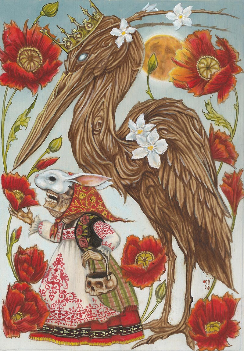 Joe Vollan - The Oleander Heron
