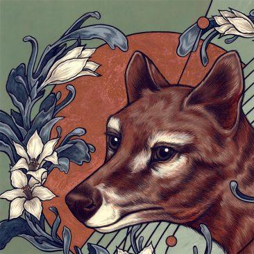 Kate O'Hara - Thylacine (Detail 1)