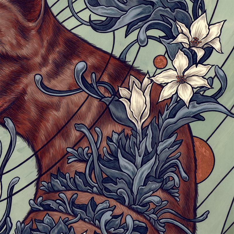 Kate O'Hara - Thylacine (Detail 2)