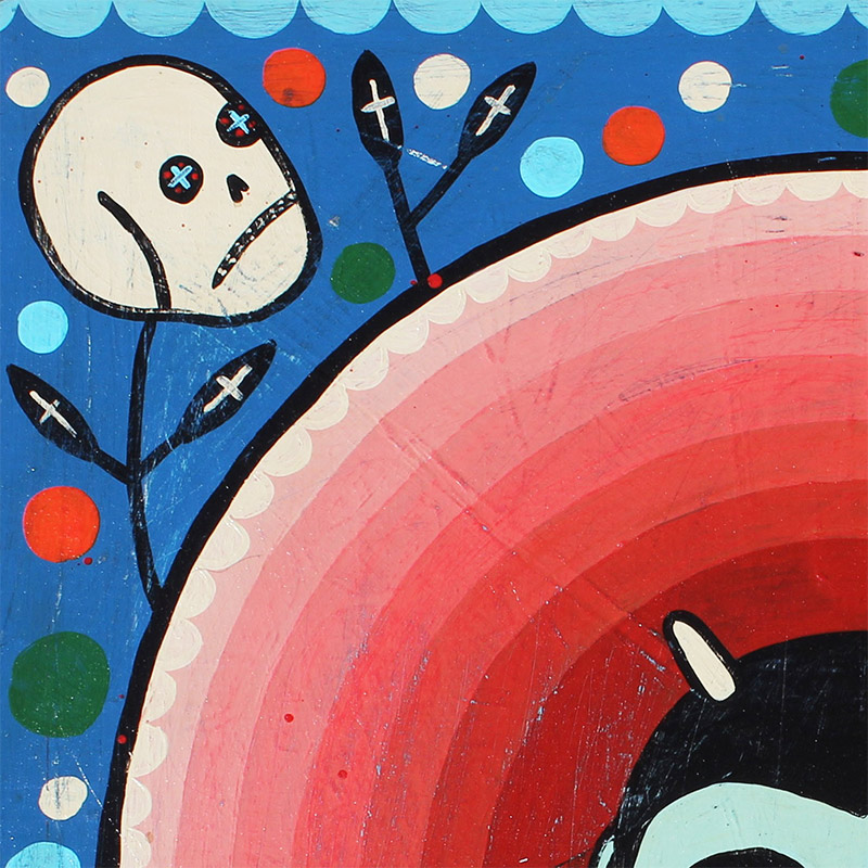 Mike Egan - Bloody Halo (Detail 1)