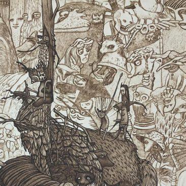 Pamela Tait - The Fallen, Culbo Woods, The Black Isle (Detail 1)