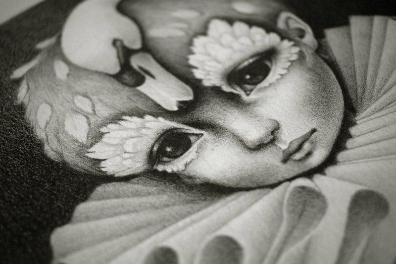 Raul Guerra - The Wild Swan (Detail 3)
