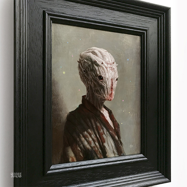 Tom Bagshaw - Foras's Apprectice (Framed - Side)