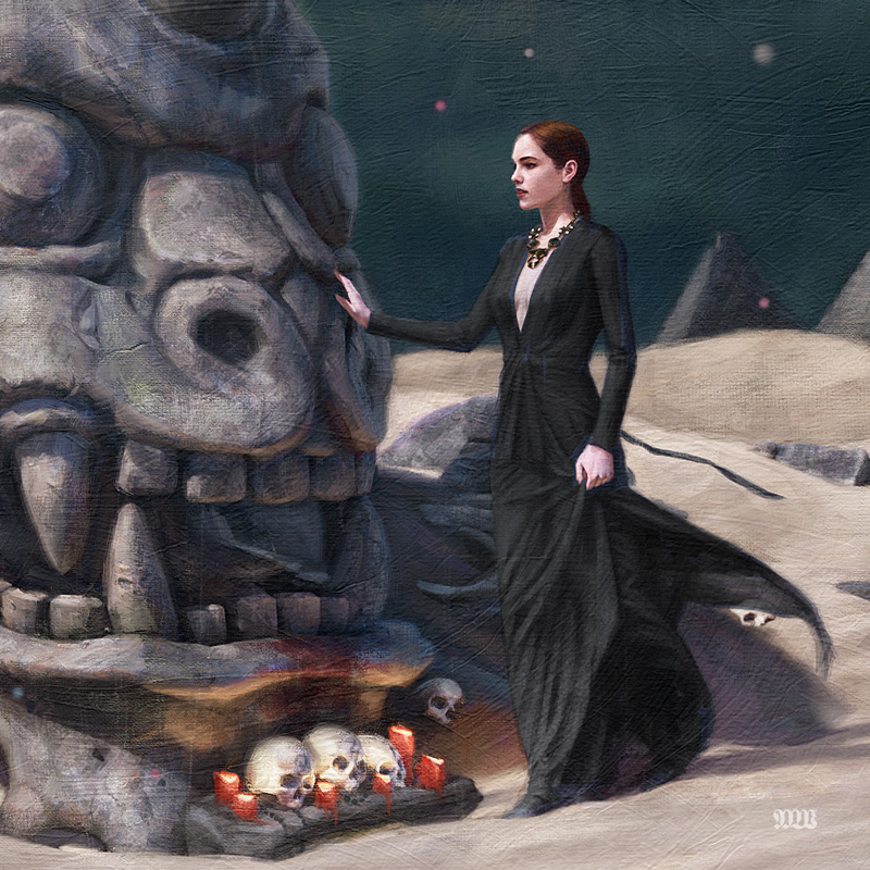 Tom Bagshaw - Protector of Truth (Detail 1)