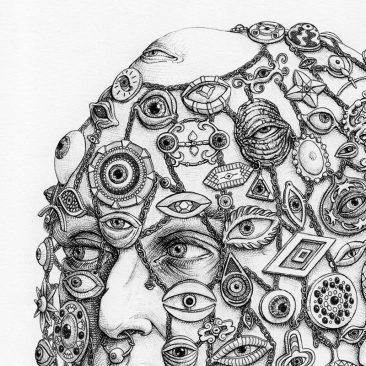 Tronvs - Lord of Eyes (Detail 1)