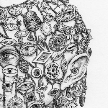 Tronvs - Lord of Eyes (Detail 2)