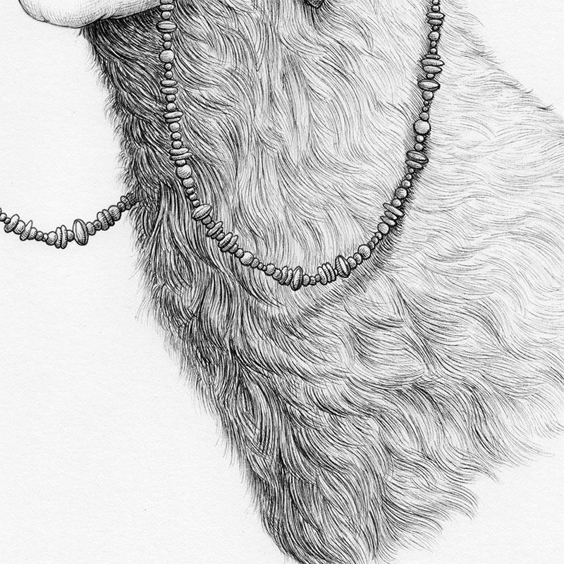 Tronvs - Splendid Seer of the Plains (Detail 2)