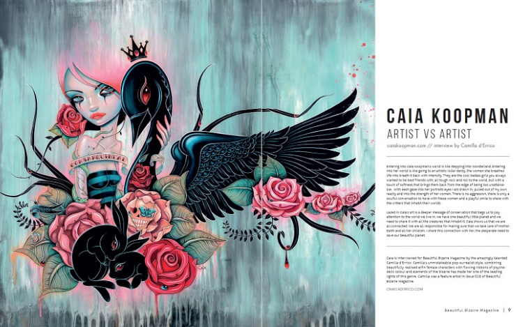 WOW x WOW - Caia Koopman - Beautiful Bizarre Magazine
