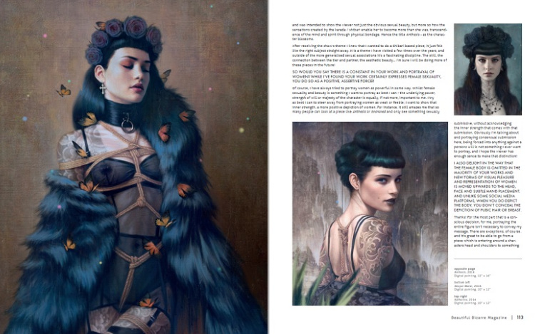 WOW x WOW - Tom Bagshaw - Beautiful Bizarre Magazine