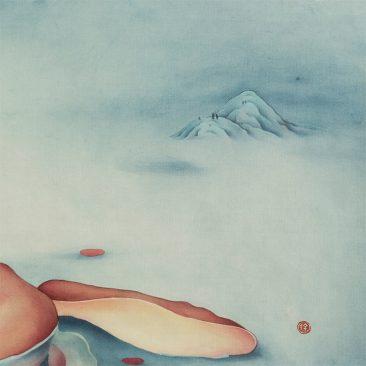 Alice Lin - Flamingo and Rabbit #2 (Detail 3)