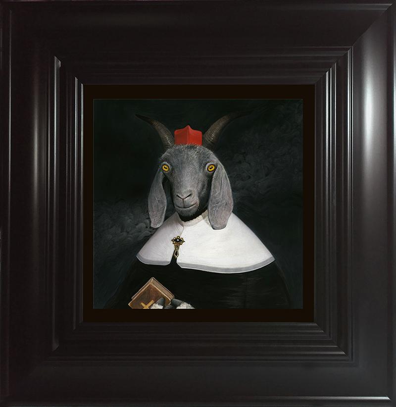 Bill Mayer - La Cabra Beata (Framed)