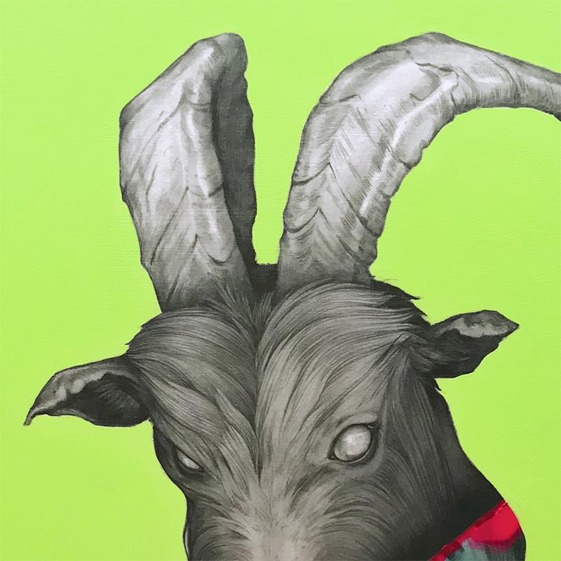 Matt Byle - Goat (Detail 1)