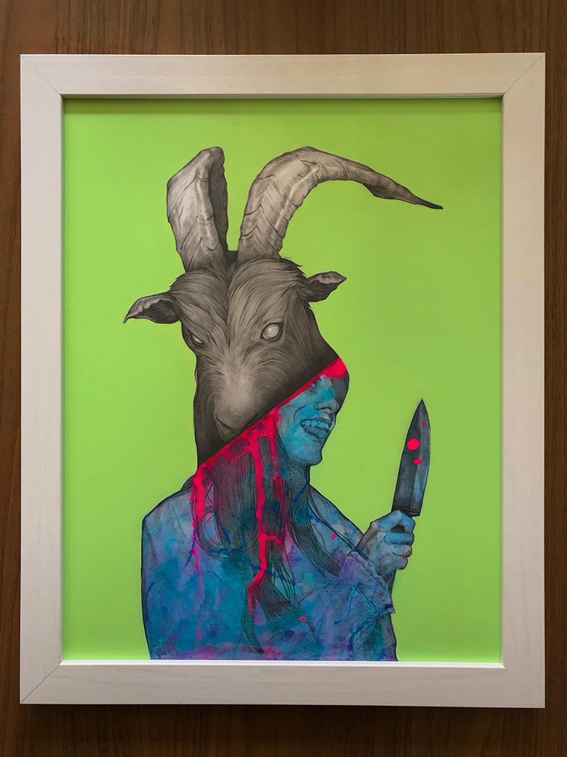 Matt Byle - Goat (Frame Front)