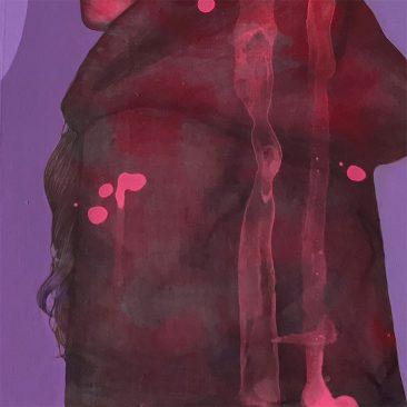 Matt Byle - Little Red (Detail 2)