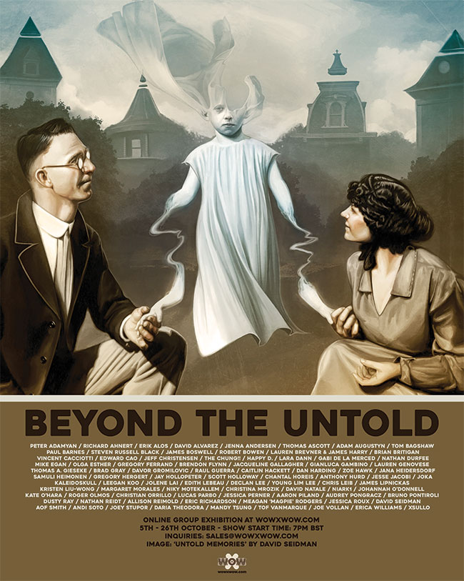 WOW x WOW Gallery - Beyond the Untold - Flyer