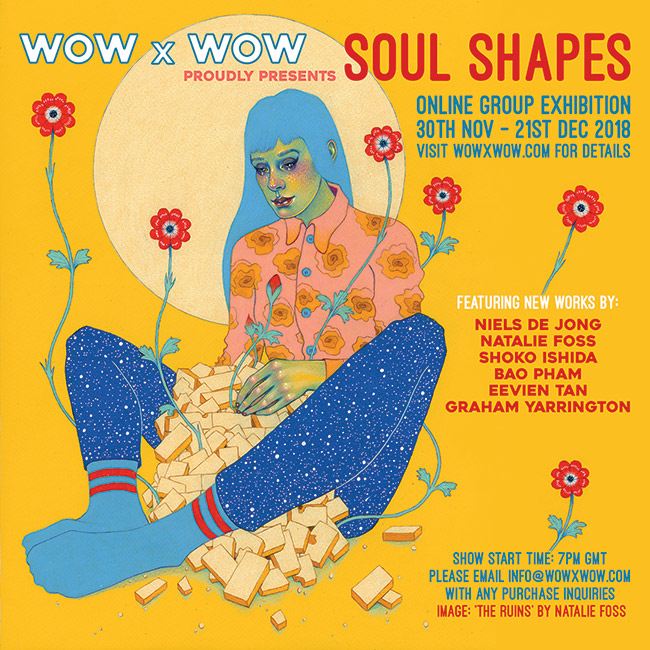 WOW x WOW - Soul Shapes Flyer (Natalie Foss)
