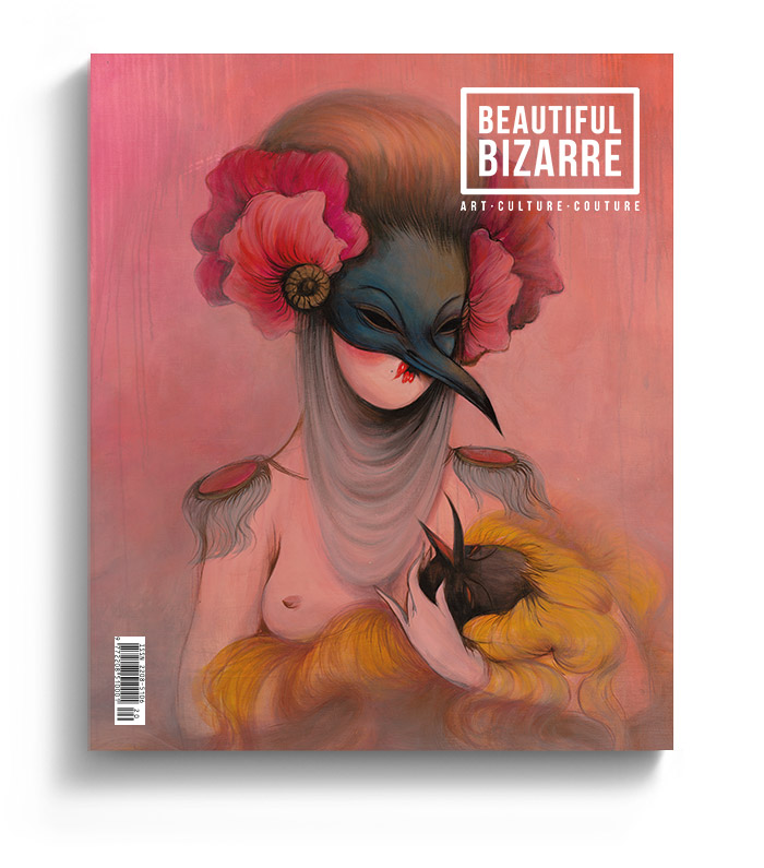WOW x WOW - Issue 023 Cover - Beautiful Bizarre Magazine