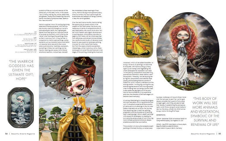 WOW x WOW - Marie Larkin - Beautiful Bizarre Magazine