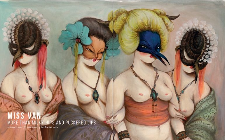 WOW x WOW - Miss Van - Beautiful Bizarre Magazine