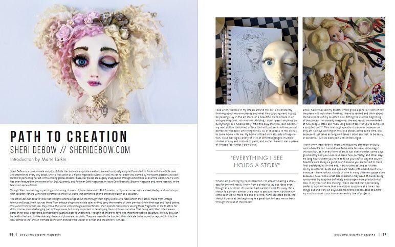 WOW x WOW - Sheri Debow - Beautiful Bizarre Magazine