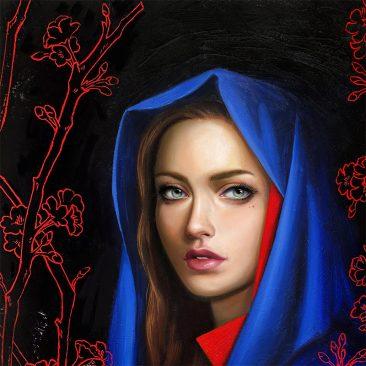 Allison Reimold - Nocturnal Bloom (Detail 1)