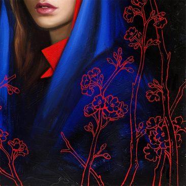 Allison Reimold - Nocturnal Bloom (Detail 2)