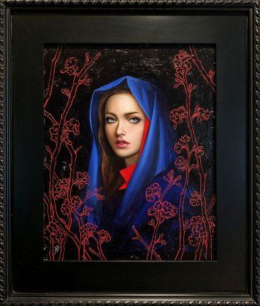 Allison Reimold - Nocturnal Bloom (Framed)