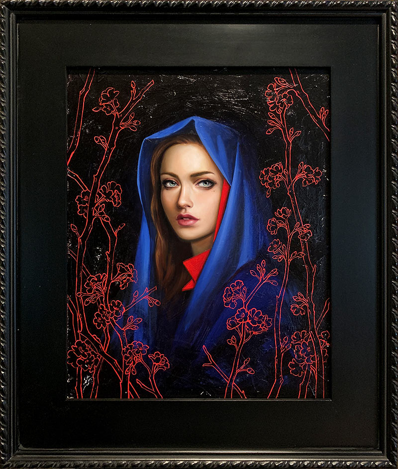 Allison Reimold - Nocturnal Bloom (Framed)