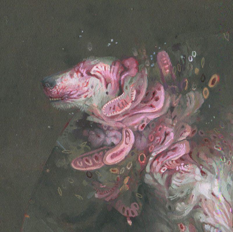 Allison Sommers - Dog Effigy (Detail 1)
