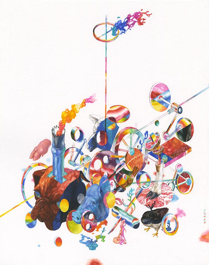 Andrew DeGraff - Technomage Dimysi-Kaysuun