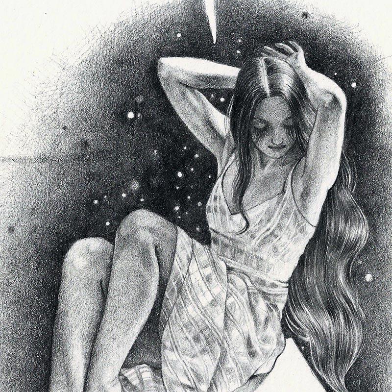 Ania Tomicka - Evenstar (Detail)