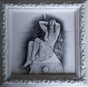 Ania Tomicka - Evenstar (Framed 1)