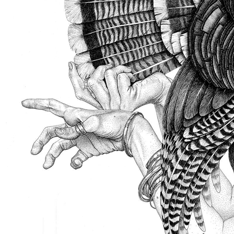 Cielle Graham - Behold the Eye (Detail 2)