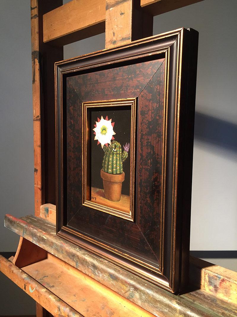 Henry Schreiber - Super Cereus (Framed - Side)