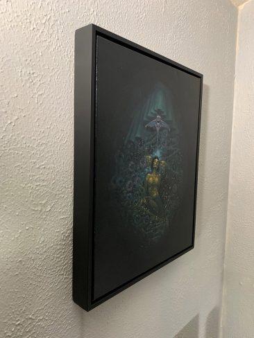 Jesse Jacobi - Nectar of Nocturnal Bloom (Framed - Side)