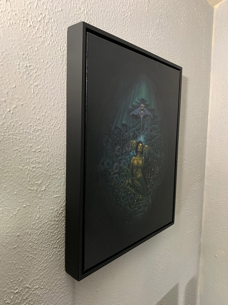 Jesse Jacobi - Nectar of Nocturnal Bloom (Framed - Side)