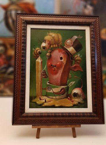 Jesus Aguado - Plastic (Framed - Front 2)