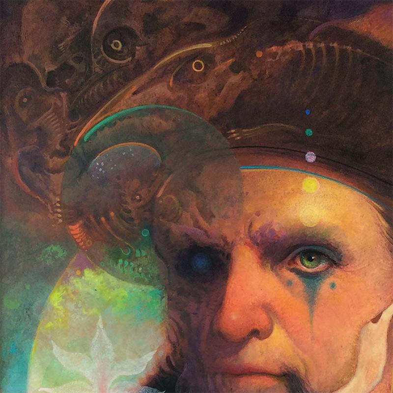 John Walker - The Mystic Voyager (Detail 1)