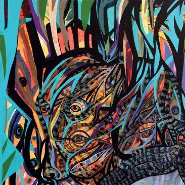 Jon Todd - The Beast (Detail 1)