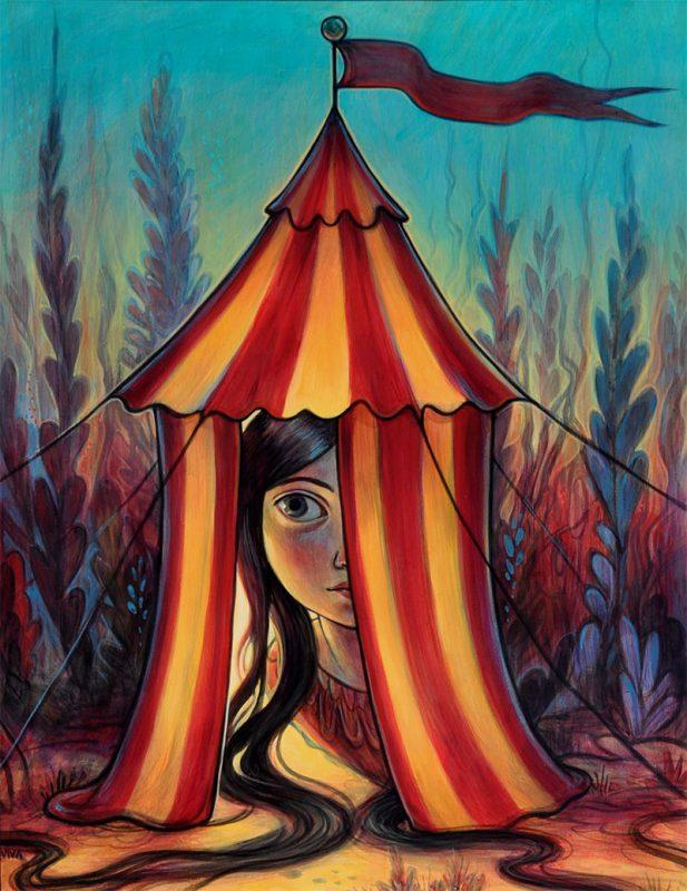 Kelly Vivanco - Mystery Tent