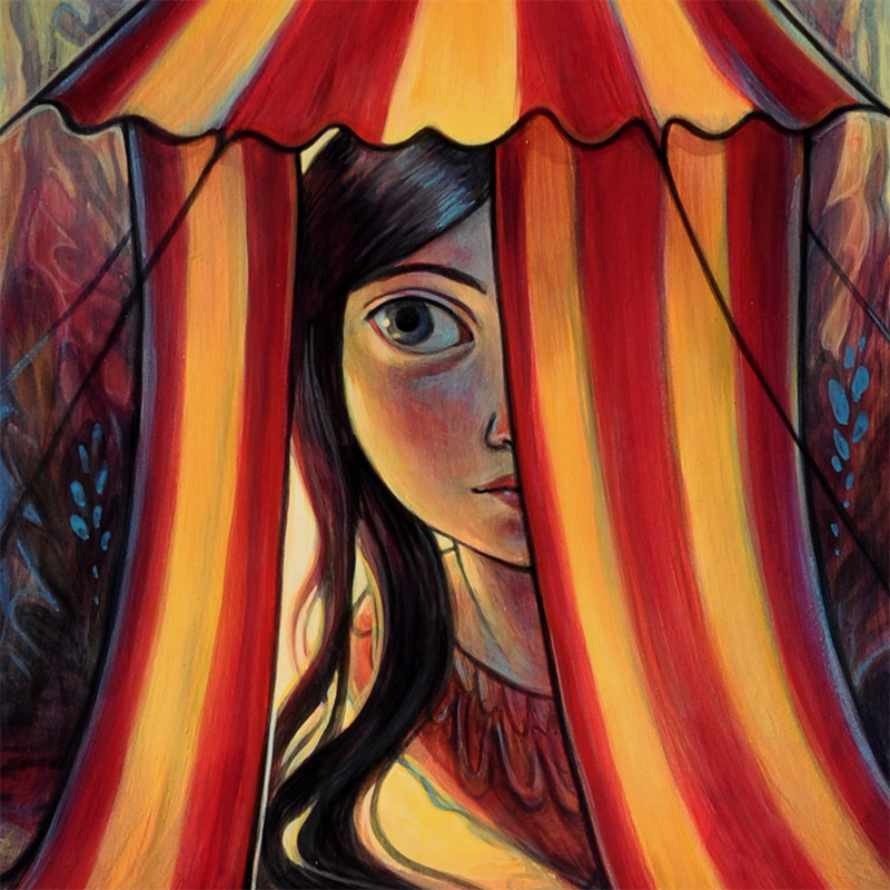 Kelly Vivanco - Mystery Tent (Detail 2)