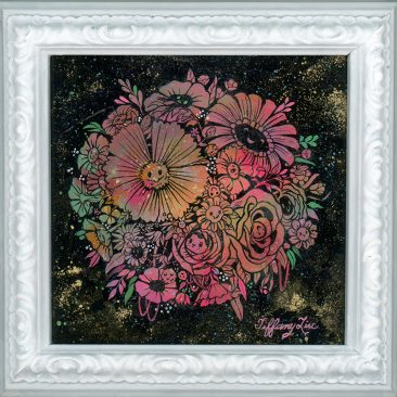 Tiffany Liu - Flower Bloom Ball (Framed)