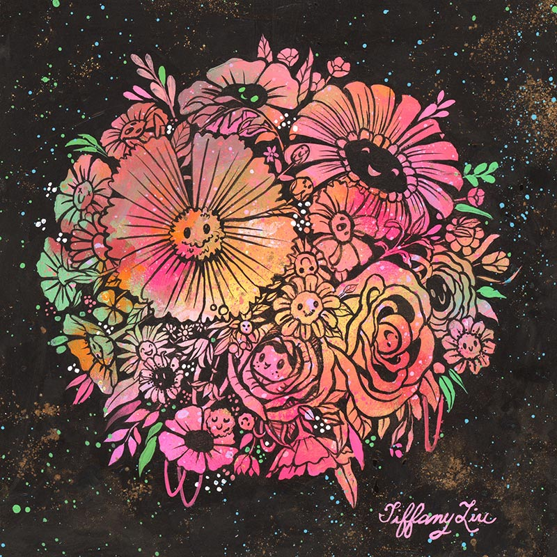 Tiffany Liu - Flower Bloom Ball